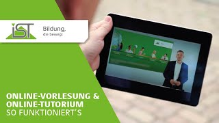 Online-Vorlesung & Online-Tutorium - So funktioniert's.