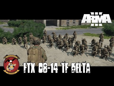 FTX 08-14 TF Delta - ArmA 3 Large Scale Co-op Gameplay