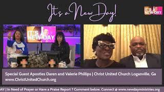 Guest Apostle Daren Phillips & Valerie Phillips | Wednesday February  3, 2021