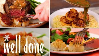 How To Make 4 Super Easy Scallop Dishes, On Their Own Or In Addition To A Meal  Recipe  Well Done