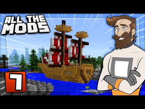 Minecraft All The Mods #7 - SUPPLY SHIP