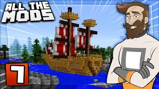 All The Mods! Can't have a city without a port! Series Playlist: ...