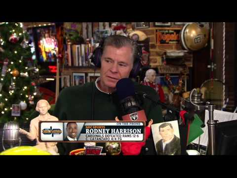 Rodney Harrison on The Dan Patrick Show (Full Interview) 12/12/2014