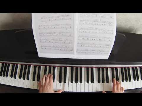 Видеоурок на пианино шопен