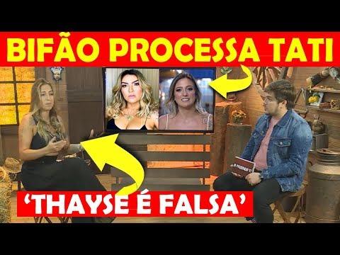 A FAZENDA 11: BIFÃO CHORA, DIZ QUE VAI PROCESSAR TATI E CHAMA THAYSE DE FALSA NA LIVE DO ELIMINADO thumbnail
