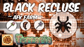 Terraria Black Recluse Farm | 1.3 AFK Farms | Spider Fangs | Poison Staff