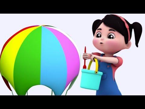 Canzoni di colori per i bambini Insegnare i colori   I bambini imparano   Colors Rhyme   Kids Video
