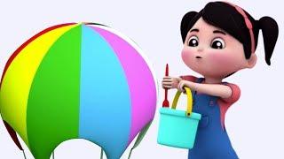 Canzoni di colori per i bambini Insegnare i colori | I bambini imparano | Colors Rhyme | Kids Video