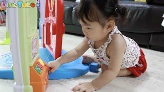 라임이와 세영이의 4in1 하이체어 뉴러닝홈 토스트 장난감 소꿉놀이ㅣ피셔프라이스 Lime & Toys 라임튜브