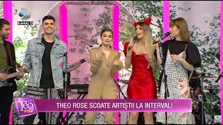 Teo Show(10.02.2021) - Theo Rose, Alexandra Ungureanu si Andrei Banuta, show incendiar!
