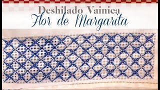 DESHILADO VAINICA FLOR DE MARGARITA | Tissu