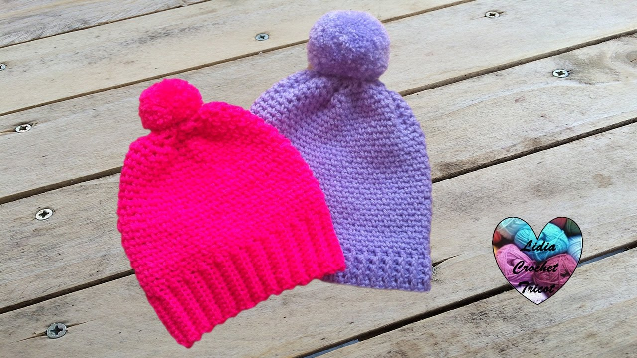 Bonnets unisex toutes tailles crochet facile   Gorros tejidos a crochet  super facil ! df5b03be88f