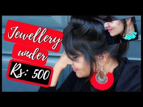 Jewellery under Rs: 500 | Silver Jewellery Haul | Westside | Bangalore shopping |