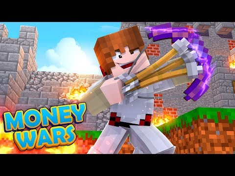 OP BOW SNIPES!! | Minecraft Money Wars RETURNS #1