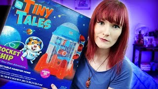 Bad Cage Unboxing Review | Tiny Tales Rocket Ship Cage | Munchies Place