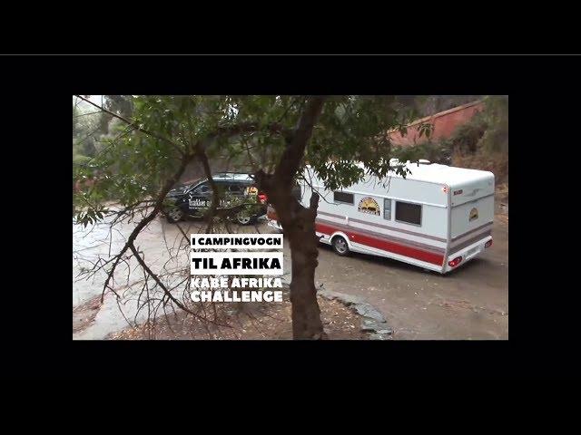 Med campingvogn til Afrika -