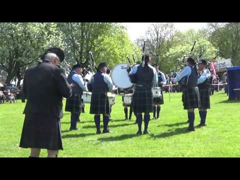 Gorey Pipe Band @ Ards & North Down Pipe Band Championships 2016