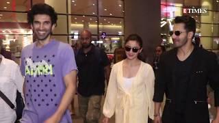 Kalank Star cast spotted at the Mumbai Airpot   Kalank Movie Promotion
