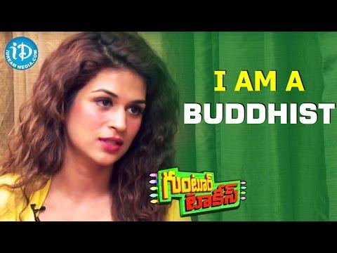 I Have Taken Up Buddhism - Shraddha Das    Guntur Talkies    Talking Movies With iDream