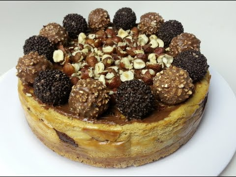 decadent-ferrero-rocher-cheesecake