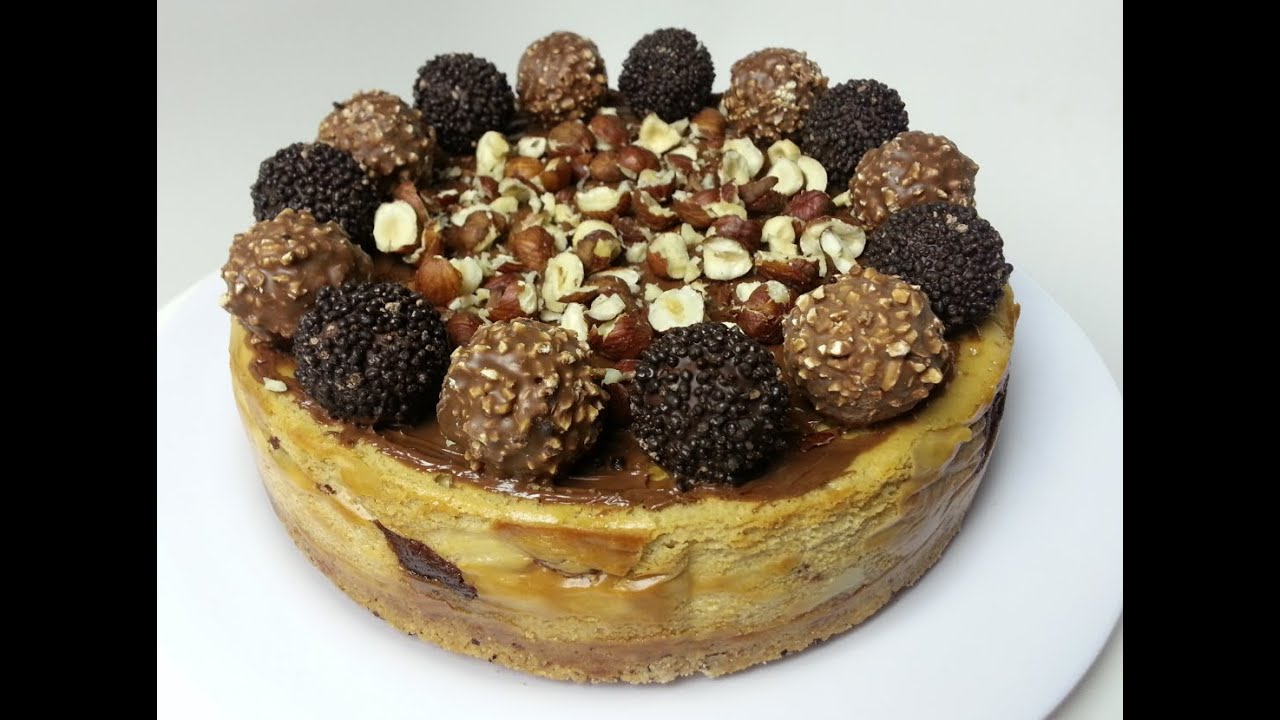 Decadent Ferrero Rocher Cheesecake Youtube