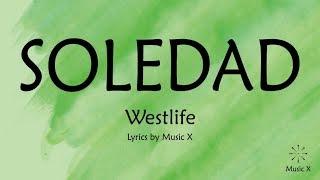 Westlife - Soledad (Karaoke)