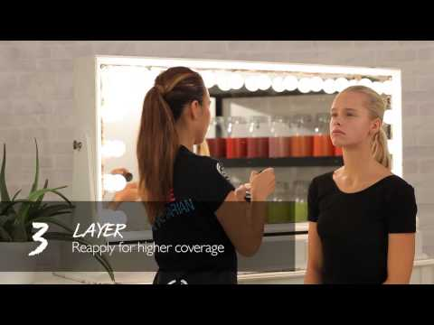 How to apply Extra Virgin Minerals Powder Foundation - The Body Shop - Beauty With Heart