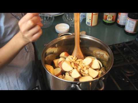 Thai Food – Massaman Coconut Curry Beef Stew