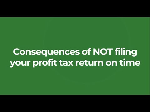 The consequences of NOT filing your profit tax return on time in Hong Kong ||