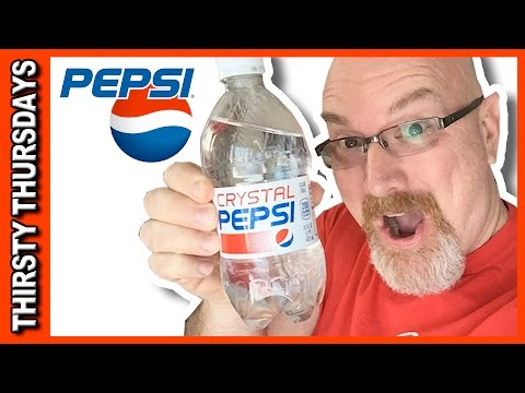 Crystal Pepsi Review Thirsty Thursdays (thanks Alan) | KBDProductionsTV