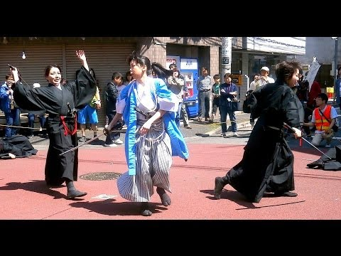 Samurai Sword Dance - Shinsengumi
