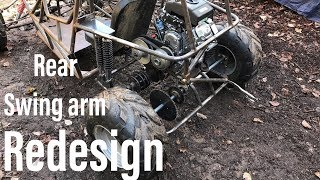 the two speed 670cc off road go kart part 8