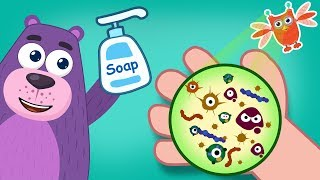 Wash Your Hands | Fight Coronavirus | COVID-19 | Polly Olly