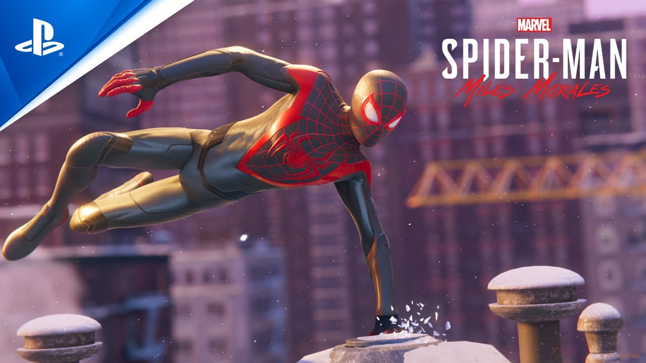 『Marvel's Spider-Man: Miles Morales』ローンチトレーラー