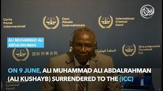 Ali Kushayb and the ICC
