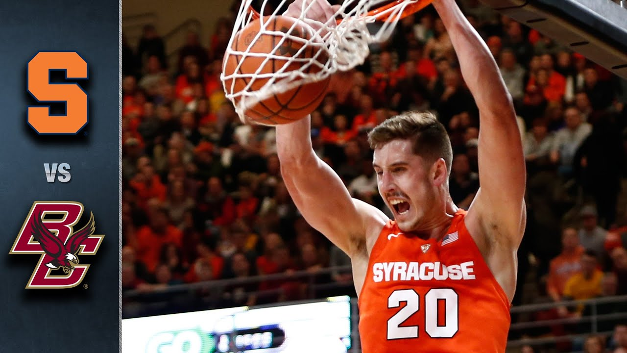 Syracuse Vs Boston College Basketball Highlights 2015 16 Youtube