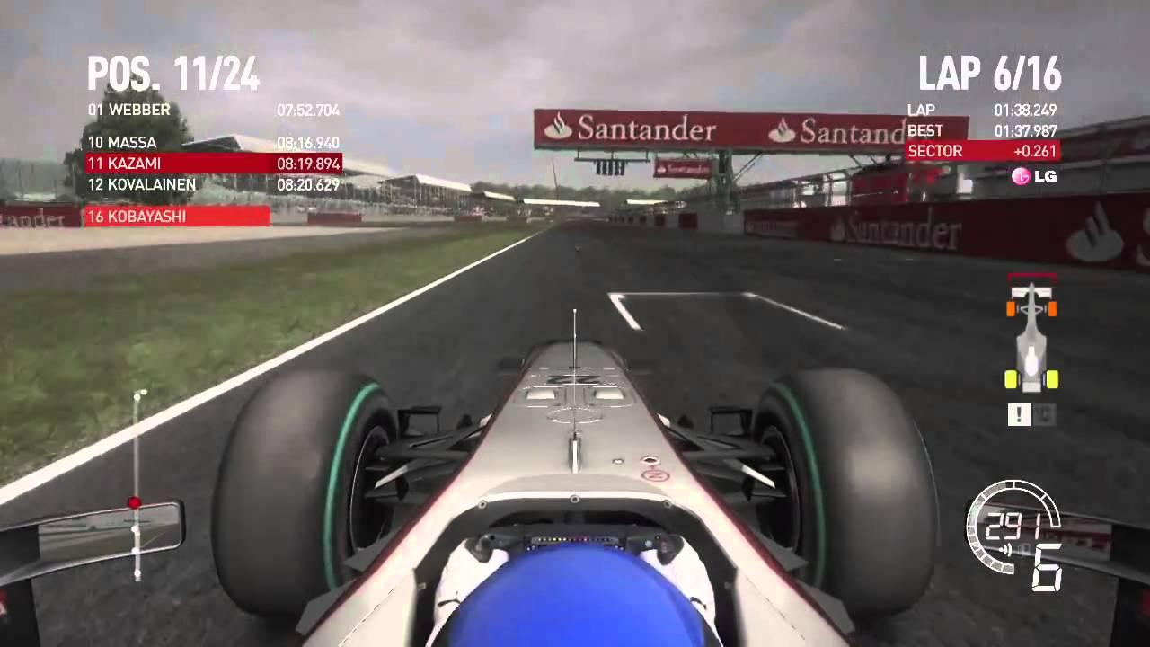 PS3]1/2 F1 2010 イギリスGP キ...