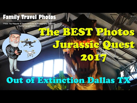 BEST Photos of Jurassic Quest 2017 Dinosaurs Show, Dallas Texas - Out of Extinction XL