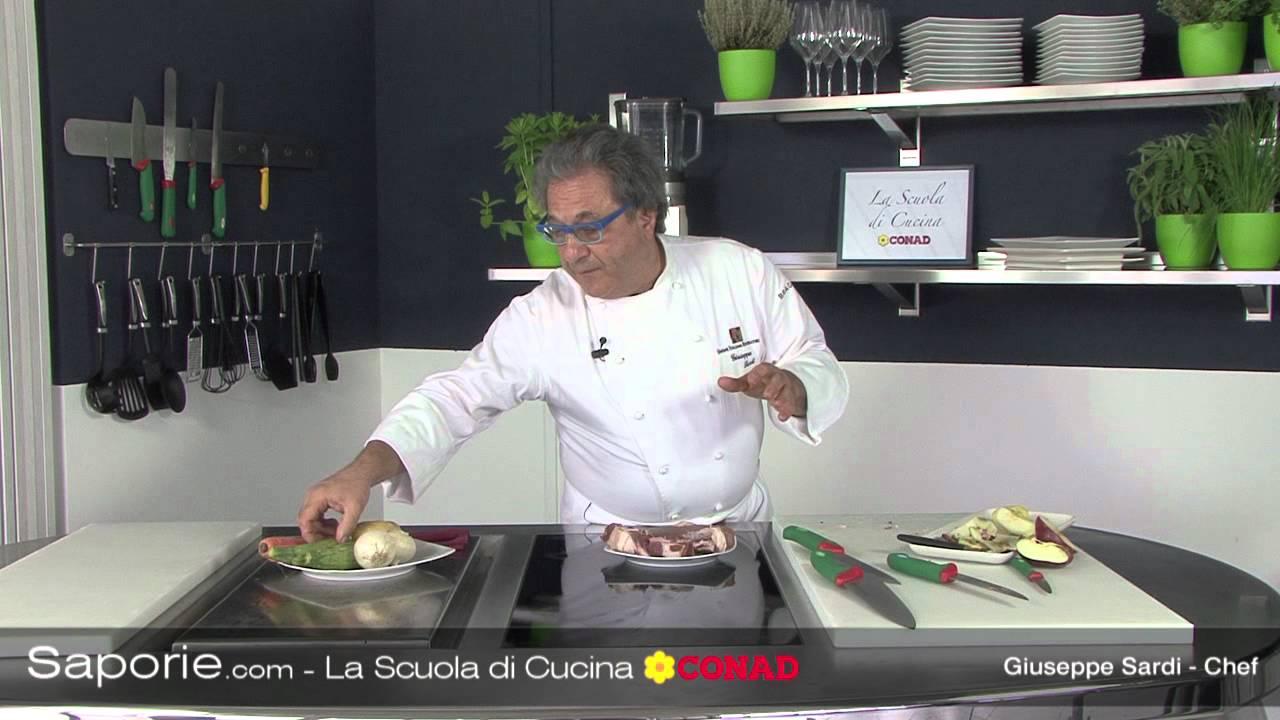 Scuola di cucina conad strumenti da taglio youtube - Strumenti da cucina ...