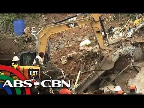 TV Patrol: Rescue sa Itogon landslide, bibilis sa pagpasok ng heavy equipment