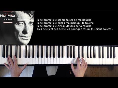 Je te promets - Johnny Hallyday - piano cover
