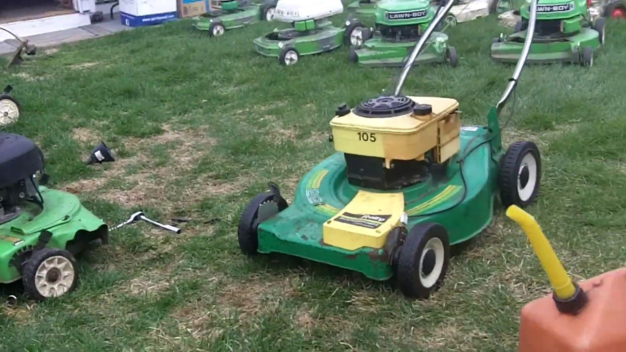 Getting The Lawnmowers Running For 2019 Part 2 - The Rest