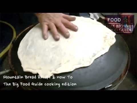 How to Make Lebanese Mountain Bread