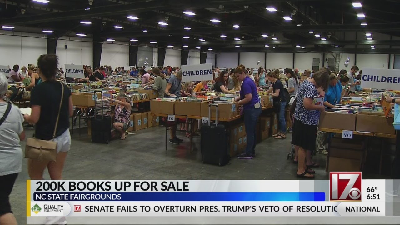 Wake County Public Libraries' book sale underway now