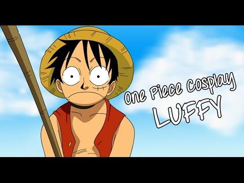 One Piece Cosplay DIY | Monkey D Luffy