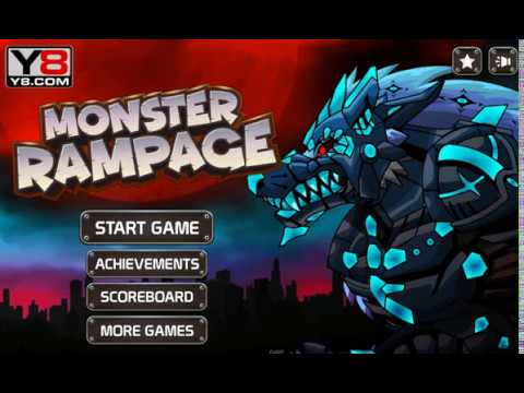 Monster Rampage Full Game Youtube