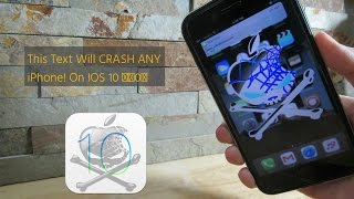 Must Watch  This Text Will Crash & Freeze Any Iphone Instantly!