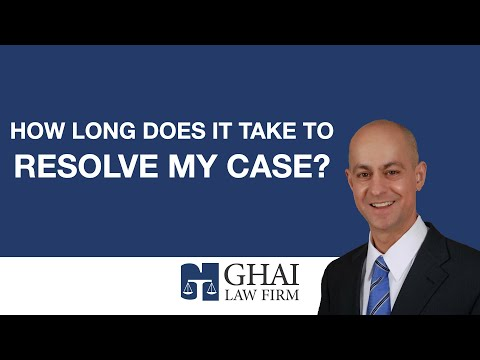 How long does it take to resolve my case?