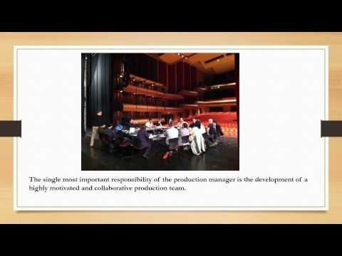 Production Managment: Unit1 - Theatre Jobs
