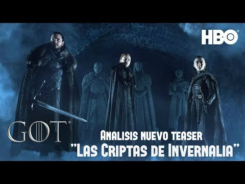 """Análisis Nuevo Teaser: """"Las Criptas de Invernalia"""" - Game Of Thrones Temp. 8"""